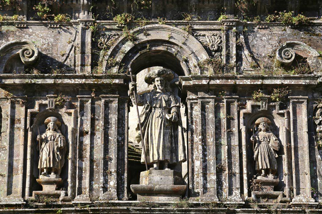 Saint-Jacques le Majeur, Anastase et Théodore Compostelle