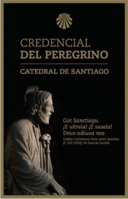 Credencial officielle de la cathédrale de Santiago
