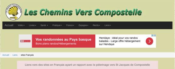 """Pèlerins de Compostelle recommandé par """"Les chemins vers Compostelle"""""""