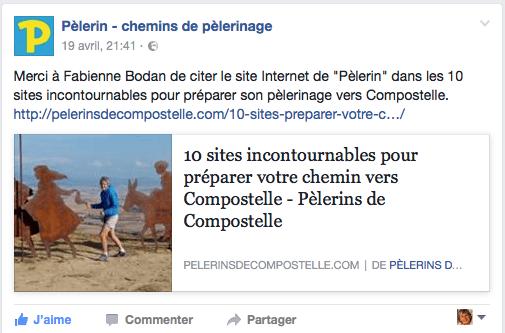 Pèlerins de Compostelle sur Pèlerin - chemins de pèlerinage