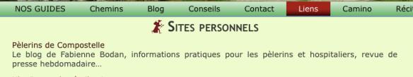 Pèlerins de Compostelle sur le site Lepère Editions