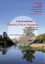 8e édition des Chemins d'Art en Armagnac 2017, Larressingle