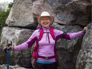 Suzanne Cayer, 800 km, le long du littoral gaspésien