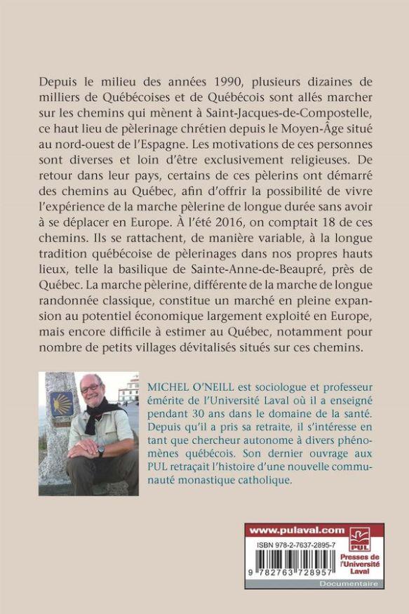Entre Saint-Jacques-de-Compostelle et Sainte-Anne-de-Beaupré, de Michel O'Neill