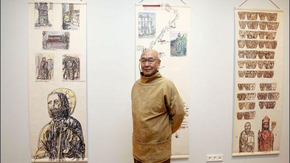 Munehiro Ikeda a parcouru le camino francés au début des années 80