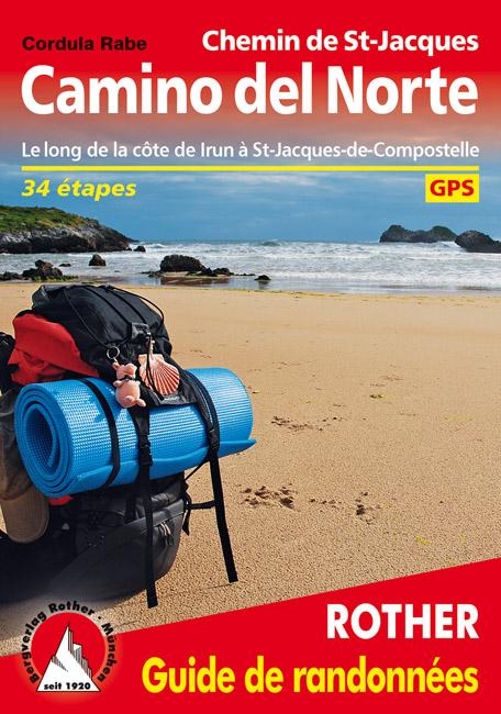 Camino del Norte, Le Chemin de St-Jacques le long de la côte d'Irun à St-Jacques-de-Compostelle Rother