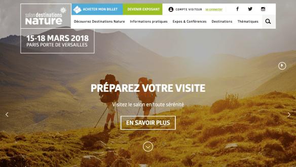 Destination Nature Paris 2018