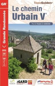 Le chemin Urbain V Topo Guide FFR