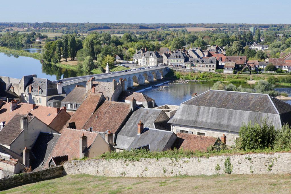 Le prieuré de la Charité-sur-Loire, sur la Via Lemovicensis © Fabienne Bodan