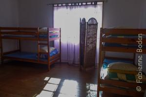 Petits dortoirs, parquet. On apprécie de se retrouver dans une atmosphère presque intime. © Fabienne Bodan