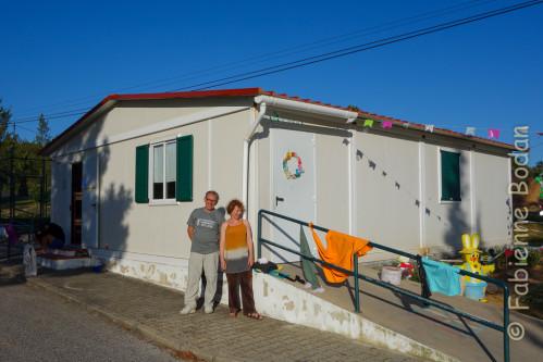 La Santa Casa de Misericordia s'occupe des personnes les plus modestes (maison de retraite, jardin d'enfants) et accueille les pèlerins. A Azambuja, on nous improvise un dortoir pour 5 dans le local des enfants. © Fabienne Bodan