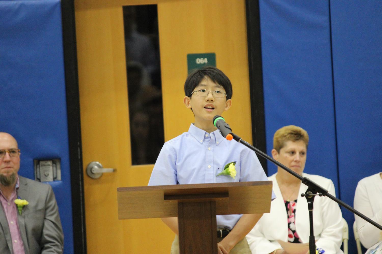 Eighth Grade Class President S Moving Up Speech We