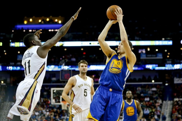 Image result for Jrue holiday and klay thompson