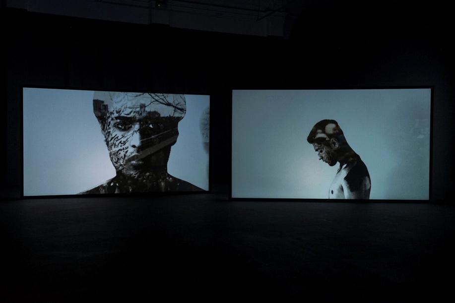 Elham Eshraghian, Bohrân, 2018. Installation view. Image credit: Alessandro Bianchetti.