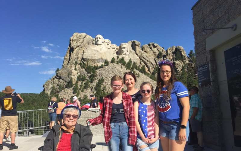 Day Six:  Mount Rushmore; Check that box