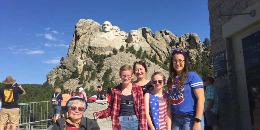 Day Six:  Mount Rushmore; Check that box
