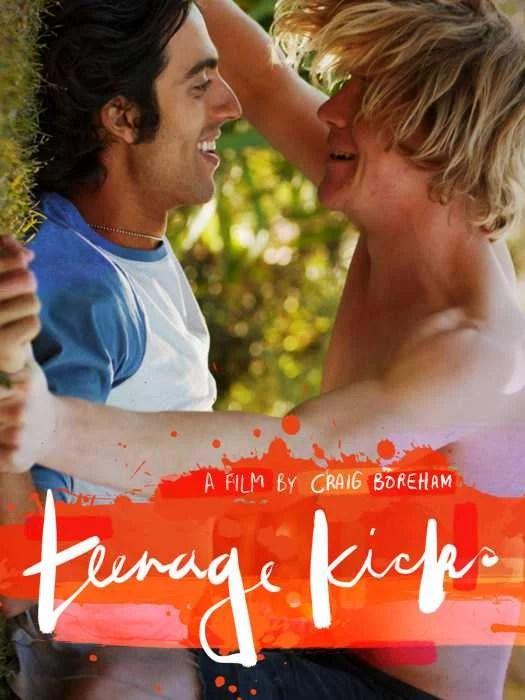 CARTEL PELÍCULA GAY Teenage Kicks 2016