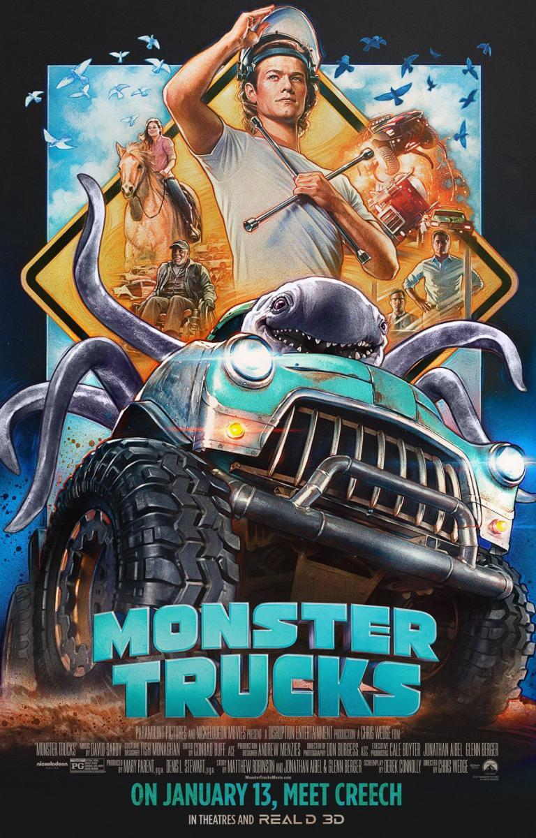 Monster Trucks - Películas online