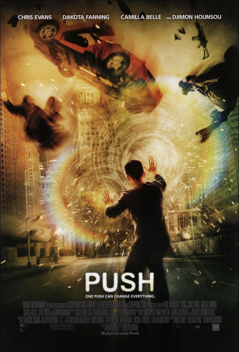 Push - Héroes - Pelicula Online