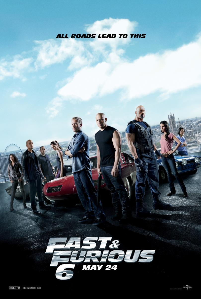 RAPIDO Y FURIOSO 5 - Fast & Furious 6 (Fast and Furious 6) - Pelicula Online