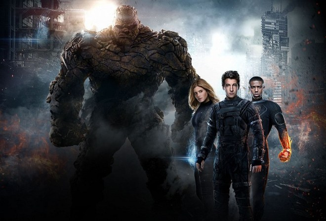 FANTASTIC FOUR -opens August 5 in Philippines