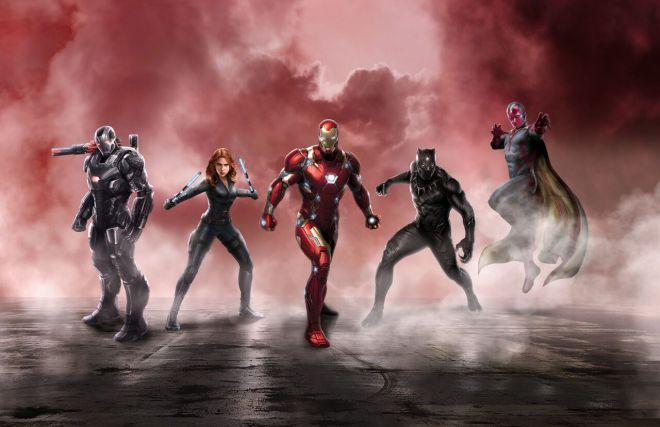 Civil War Iron Man
