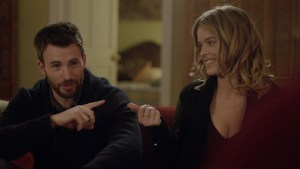 chris evans and alice eve BEFORE WE GO_