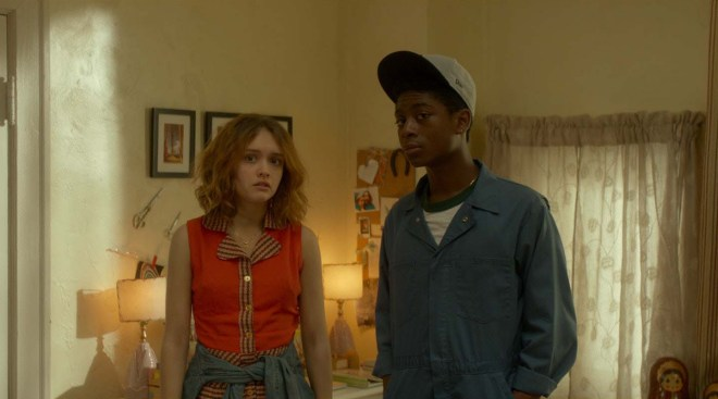 olivia cooke and rj cyler ME AND EARL AND THE DYINGI GIRL