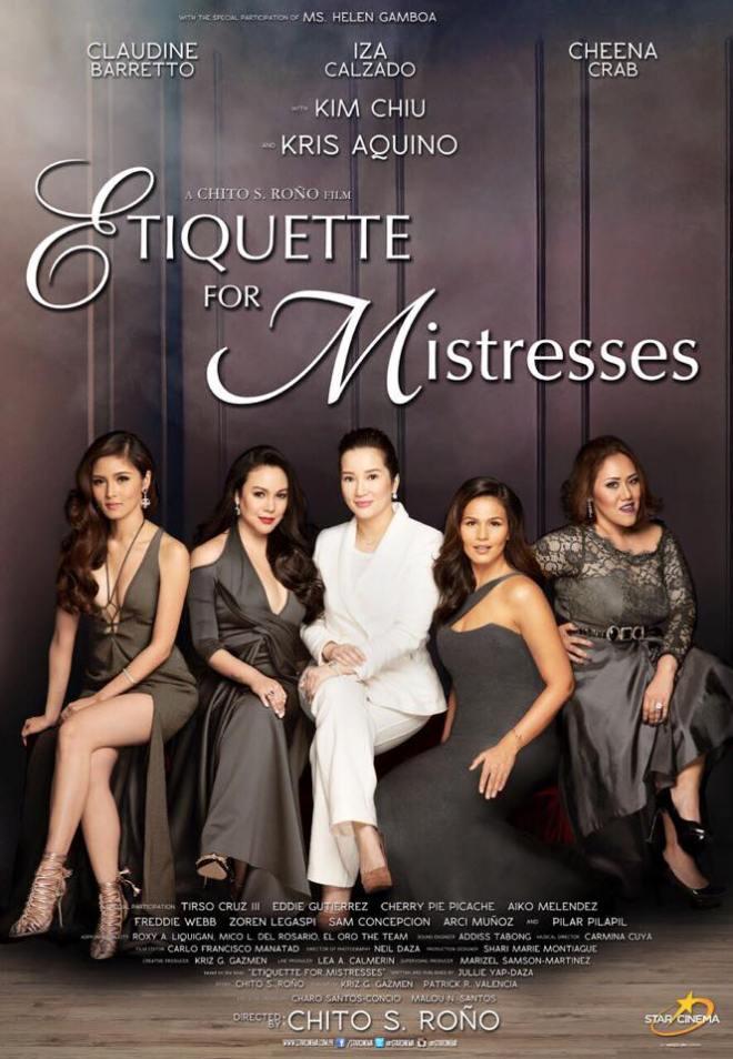 30 Etiqutte for Mistresses