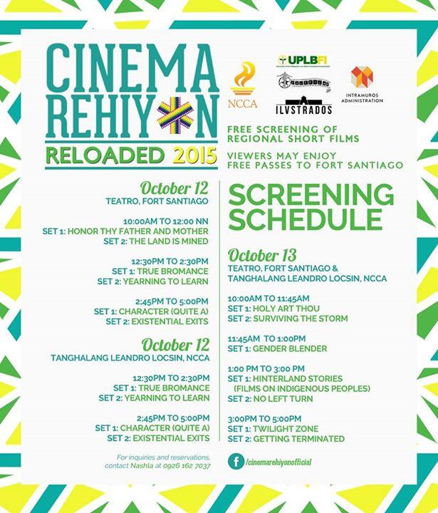 Cinema Rehiyon Sked