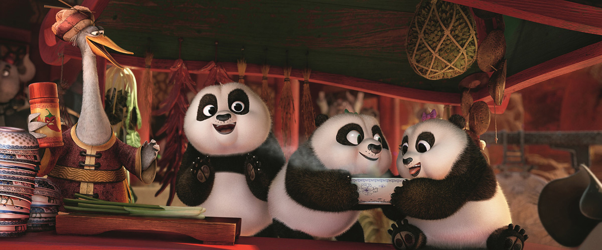 KUGN FU PANDA 3 - baby pandas