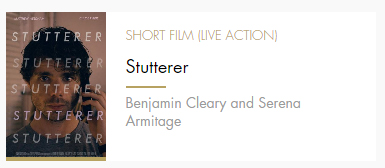 Short Film Stutterer