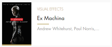 Visual Effects Ex Mahina