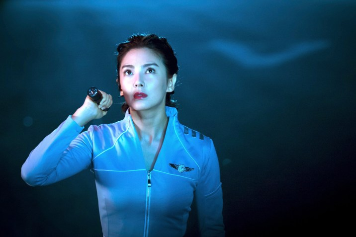 zhang yuqi in LOST IN THE PACIFIC