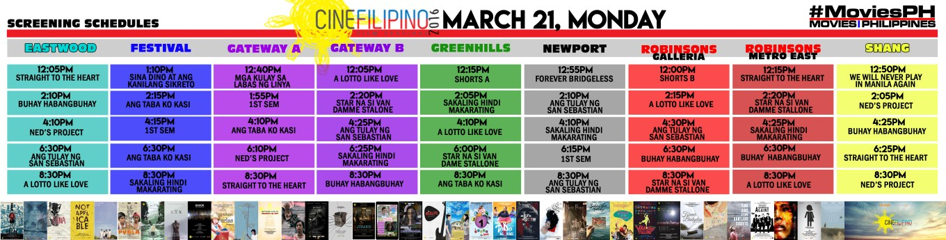 CineFilipino Sked March 21