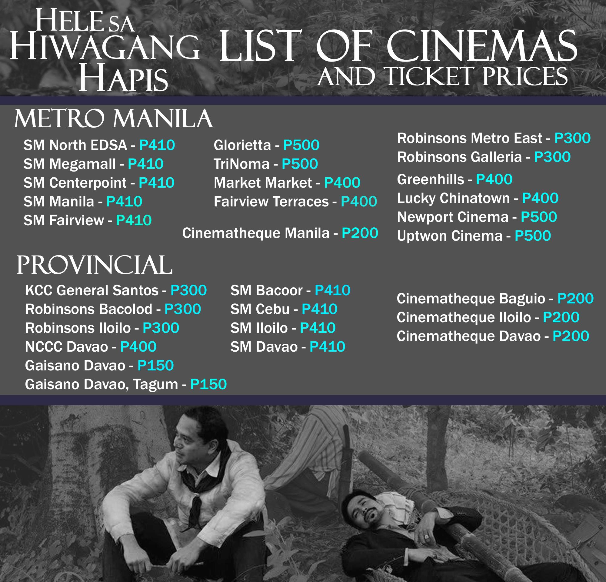 Hele Cinema List