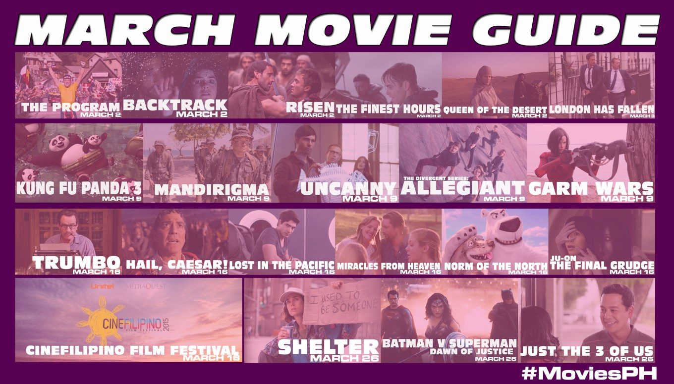 March Movie Guide