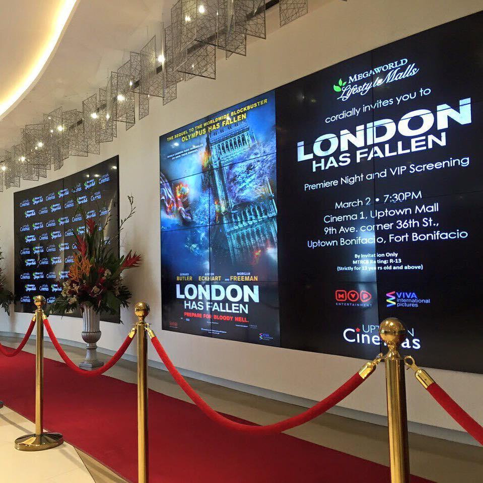 Uptown Cinema London Has Fallen
