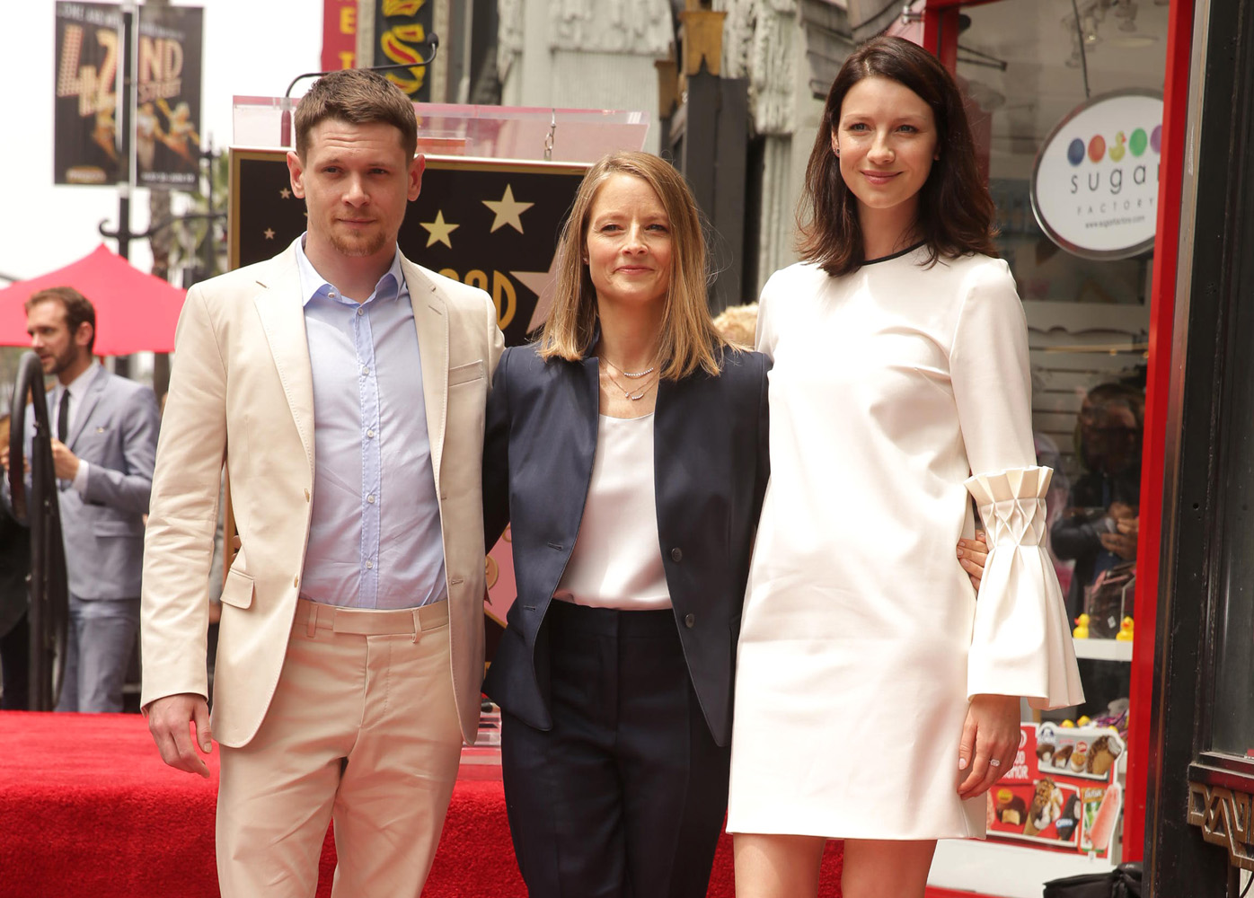 Jodie Foster Honored with Star on Hollywood Walk of Fame