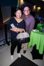 Ayala Land Malls Inc President Rowena Tomeldan and Leo Katigbak of ABS-CBN Corp