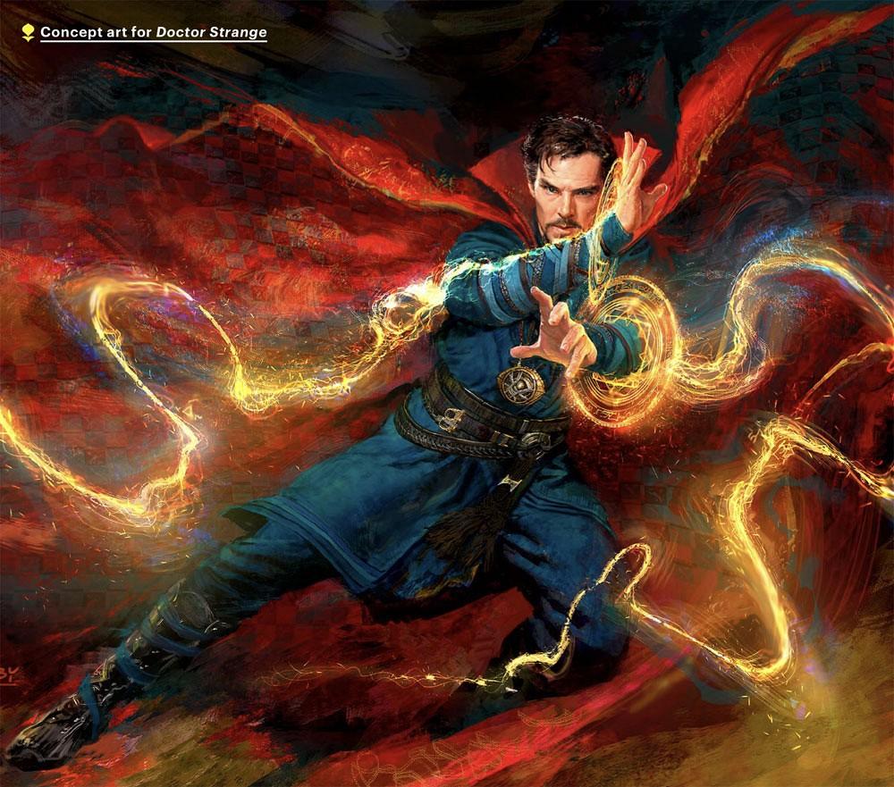 Doctor Strange Concept Art 02