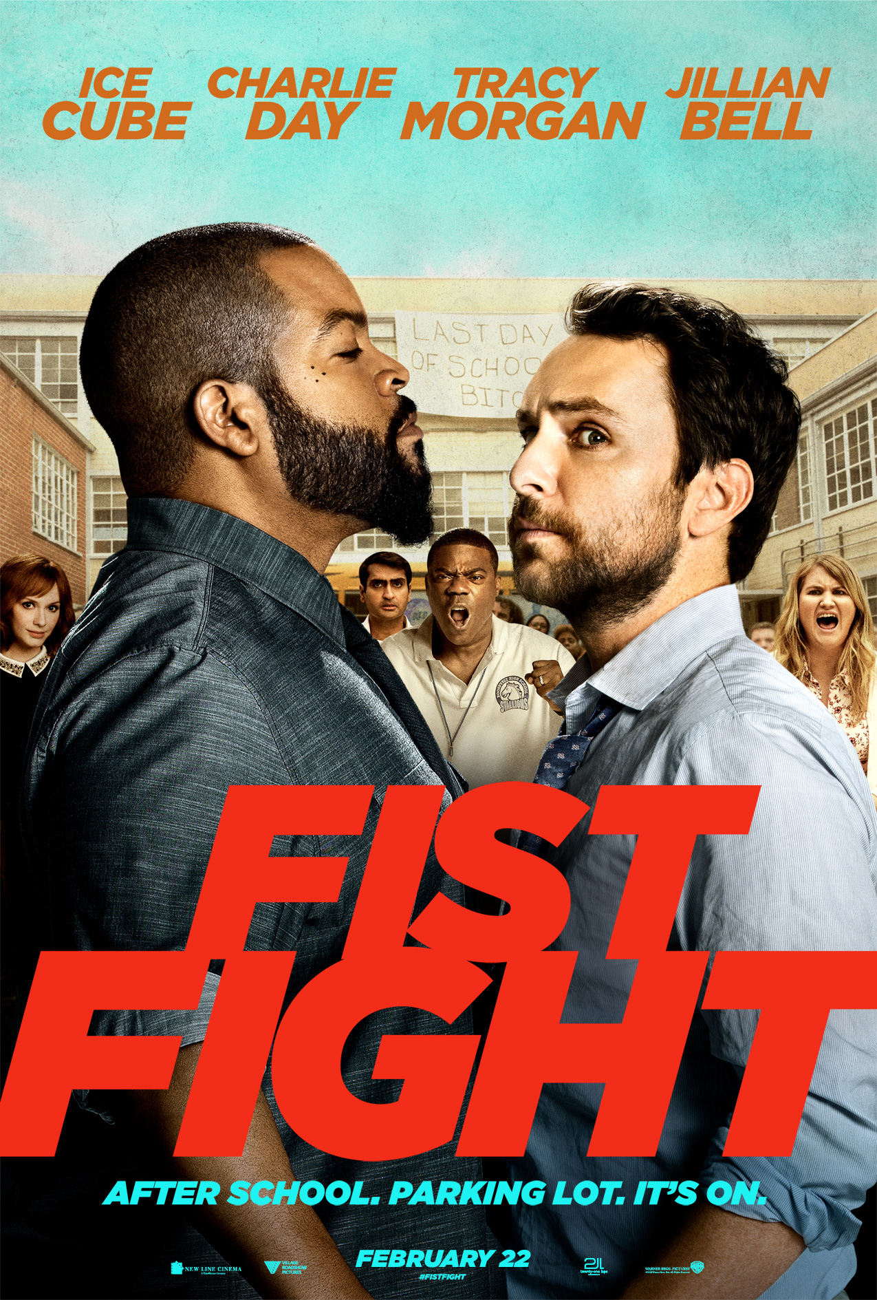 Fist Fight Main Poster