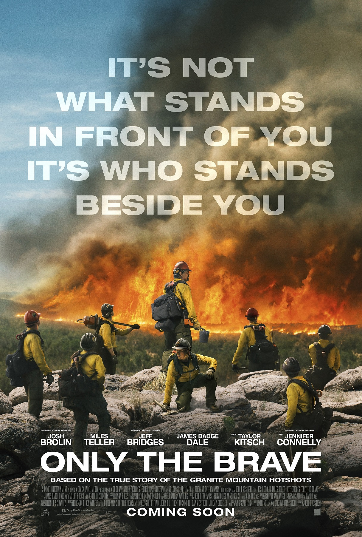 Only The Brave - poster art