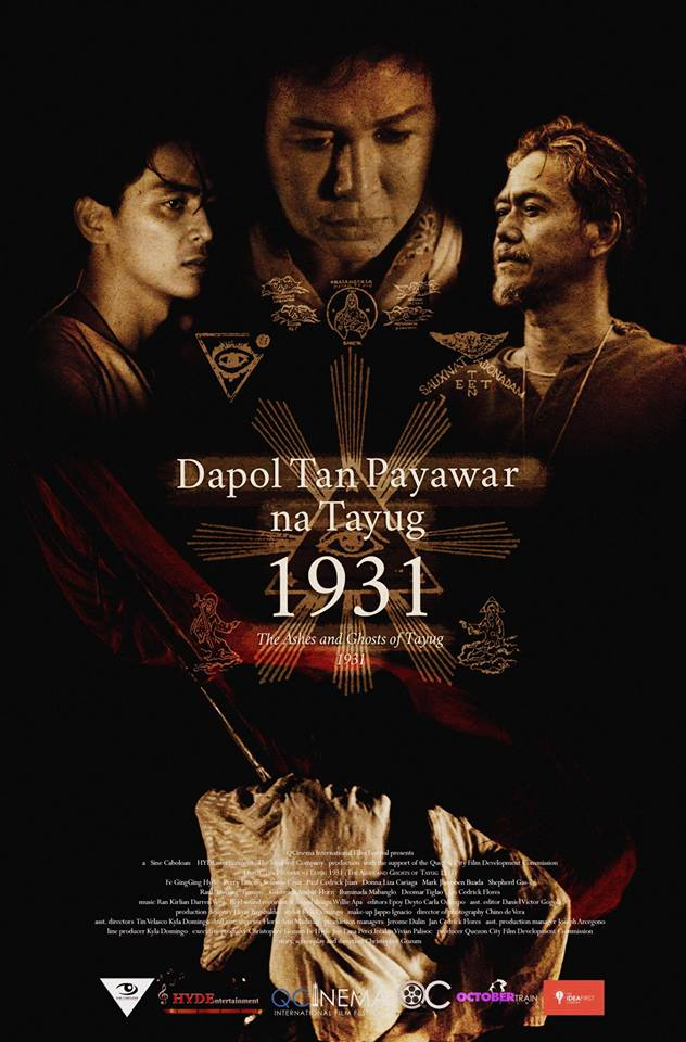 Poster Dapol Tan Payawar na Tayug 1931