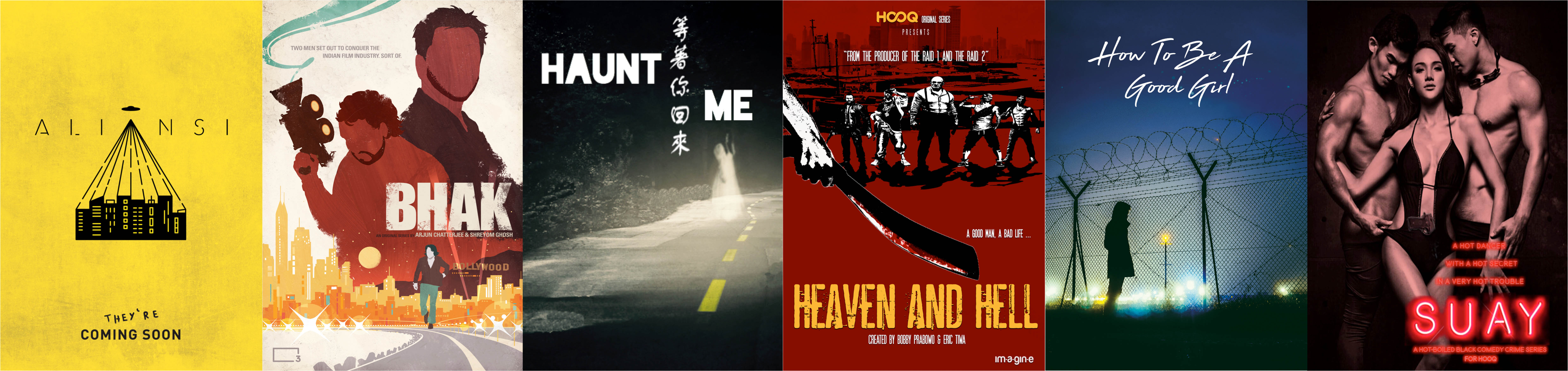 HOOQ Filmmakers Guild Winners
