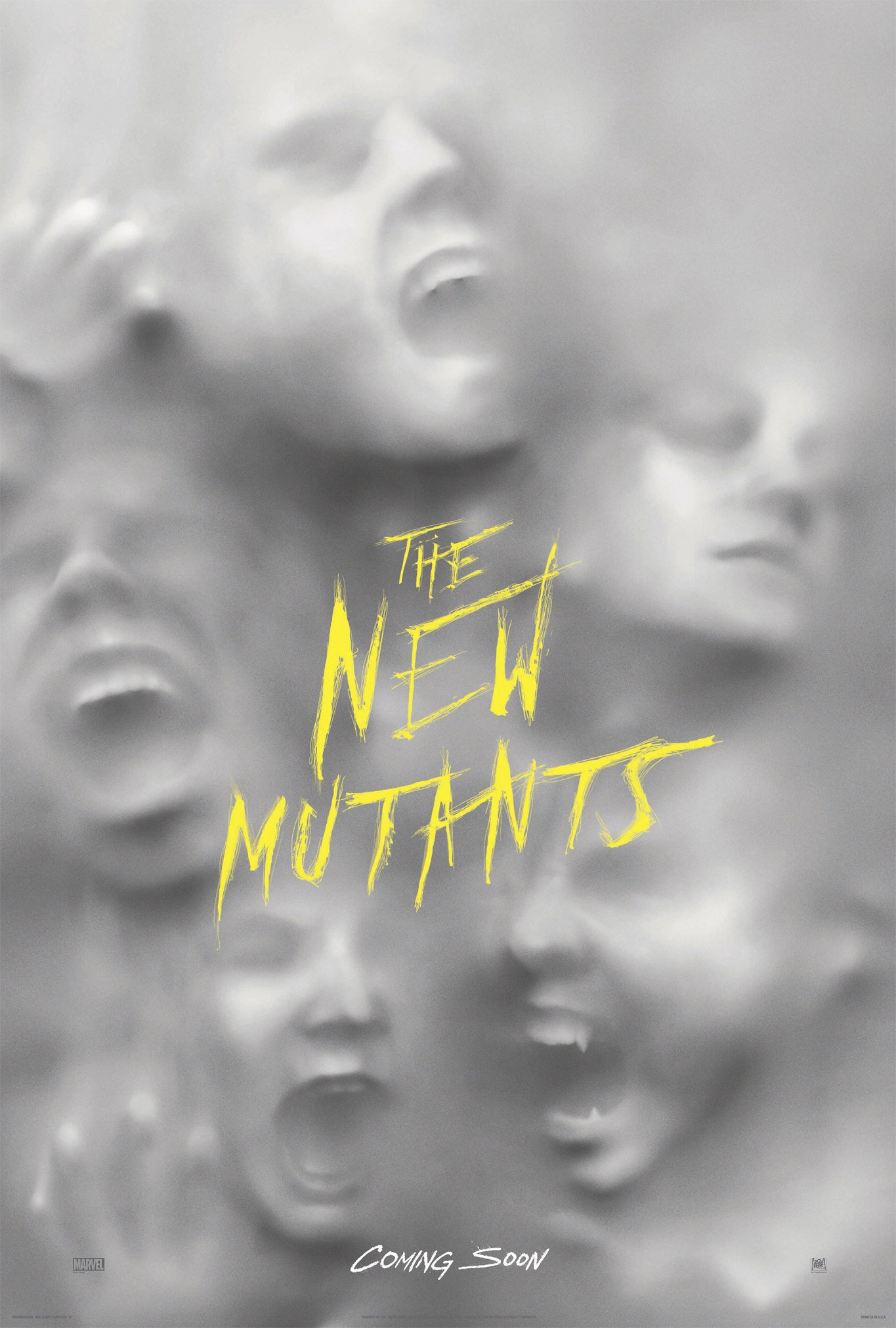 THE NEW MUTANTS _teaser poster