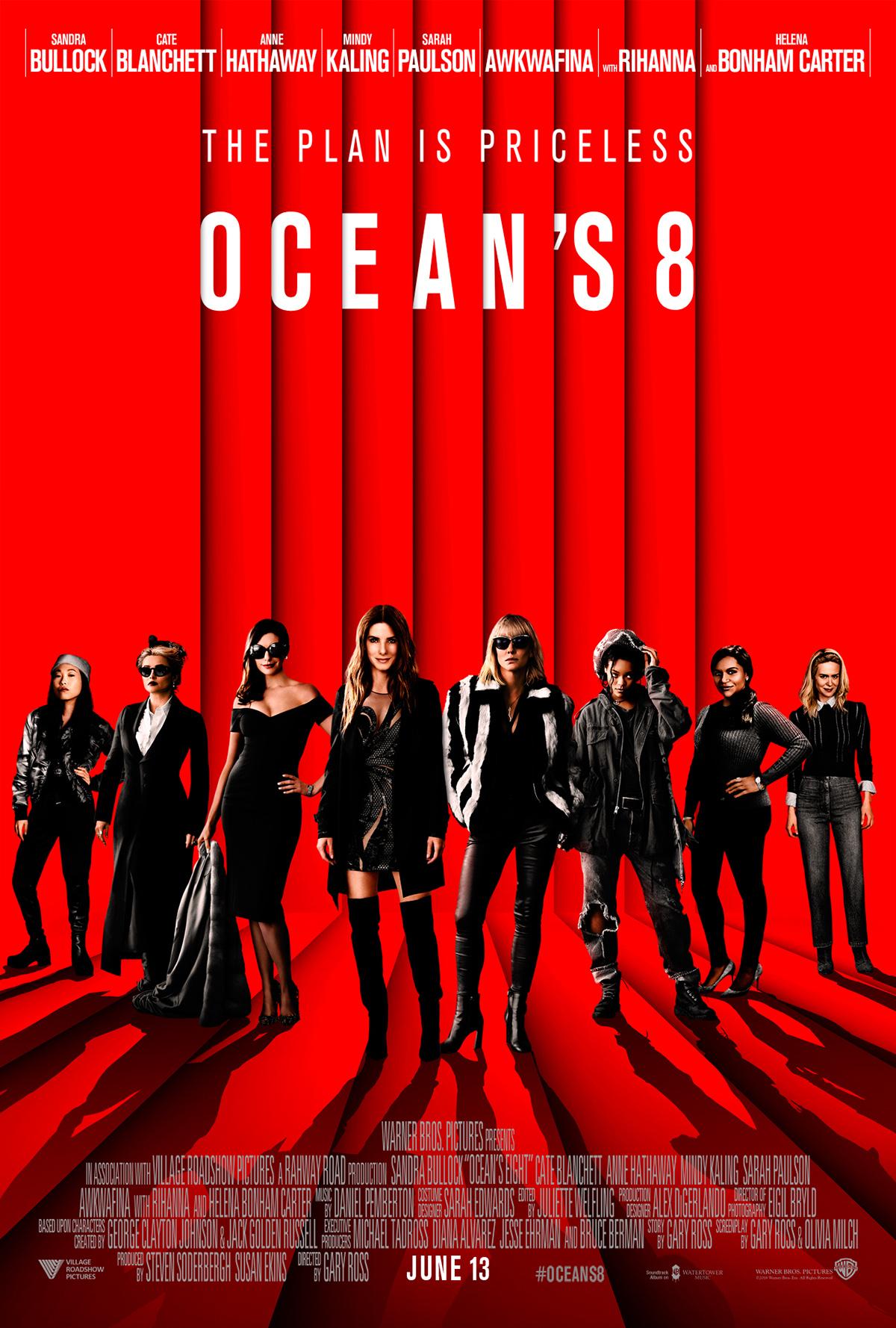 Oceans 8 Poster