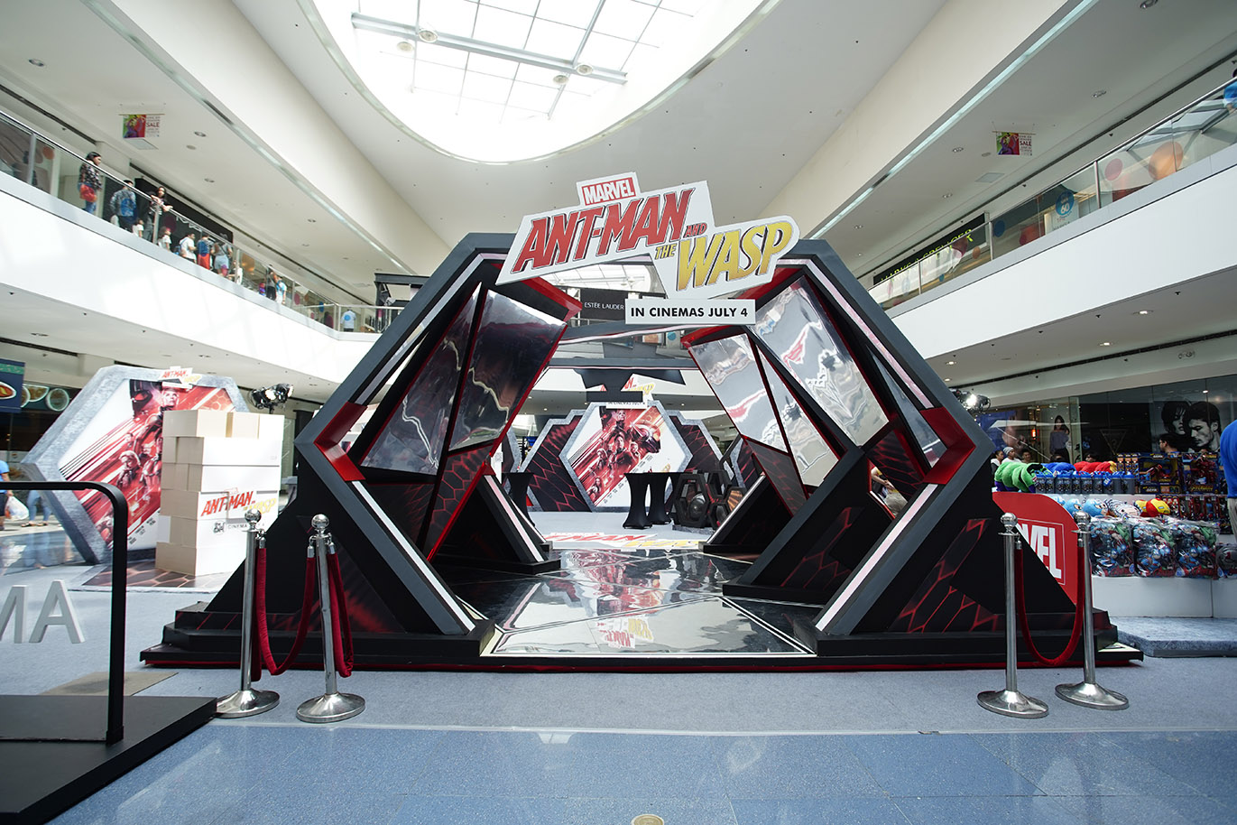 SM Cinema's Not The Actual Size Ant-Man and The Wasp Exhibit