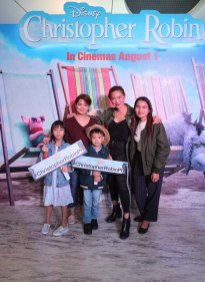 Joyce Pring and family