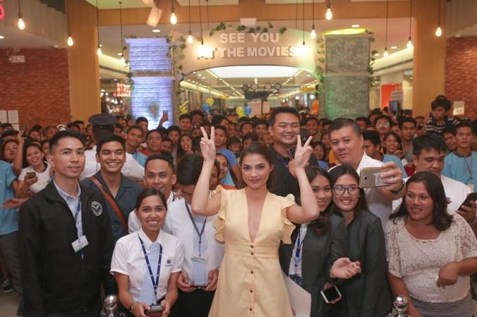 Rhian Ramos at the opening of SM Cinema Ormoc